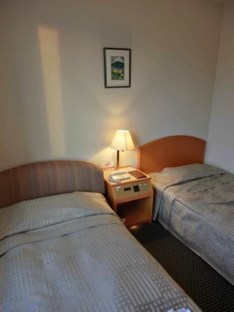 Kumamoto Terrsa : シングルのソファがベッドになっている(左)ハイダーツイン