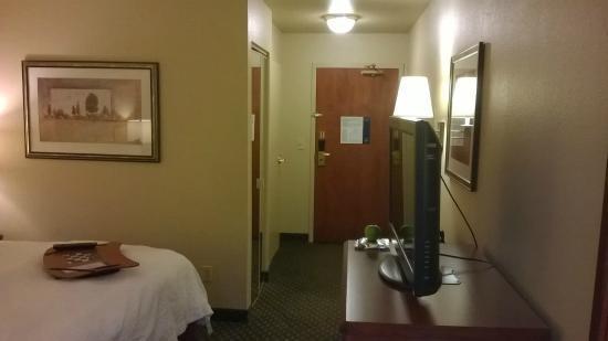 Hampton Inn Sacramento/Rancho Cordova: King Bedded Room