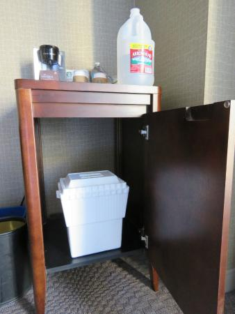 Sheraton Crescent Hotel: bring your own fridge