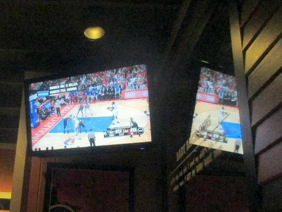 Basketball Playoffs on TV, Chili's Grill & Bar, Milpitas, CA