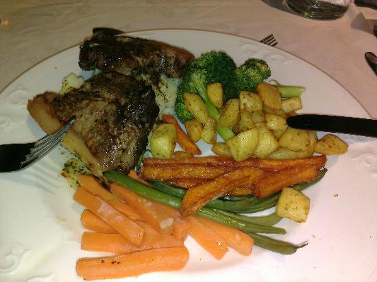 The White Swan Inn: Lamb Cutlet special