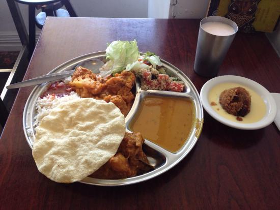 Govinda's Restaurant: Standard $10 buffet meal.