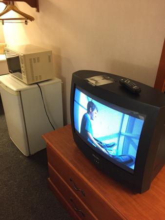 Red Roof Inn Chattanooga Airport: Old TV