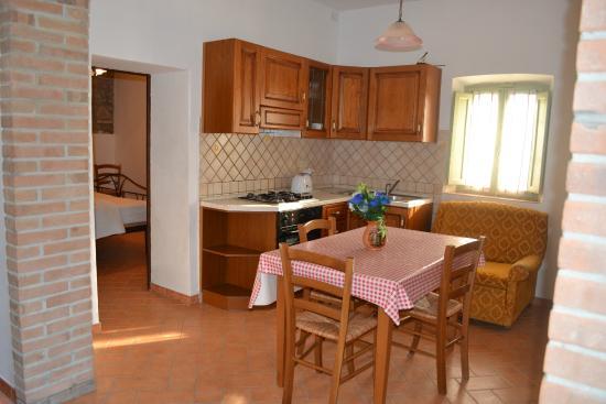 cucina castagno - Foto di La Ghiraia, Santa Luce - TripAdvisor
