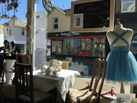 Cinderellas Tea Room and Dress Shop: A Sunny Spot