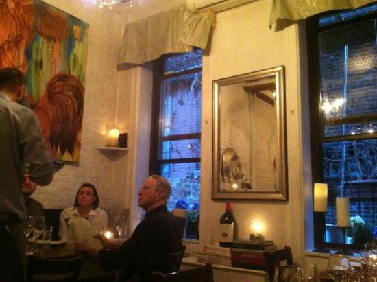 Aroma Kitchen & Winebar: ...with windows on an enclosed courtyard