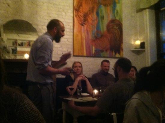 Aroma Kitchen & Winebar: the amazing waitstaff