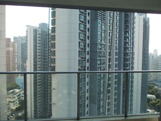 Oakwood Residence Shanghai: view from the apartment