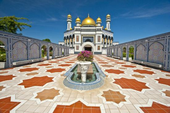 Bandar Seri Begawan, Brunei Darussalam: Jame'Asr Hassanil Bolkiah Mosque
