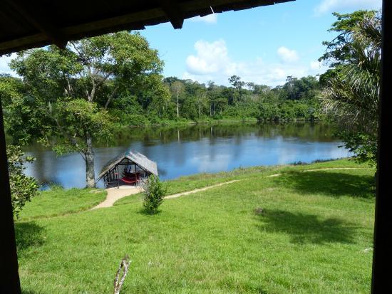 Jungle Lodge Palumeu: hangmatteren aan de rivier