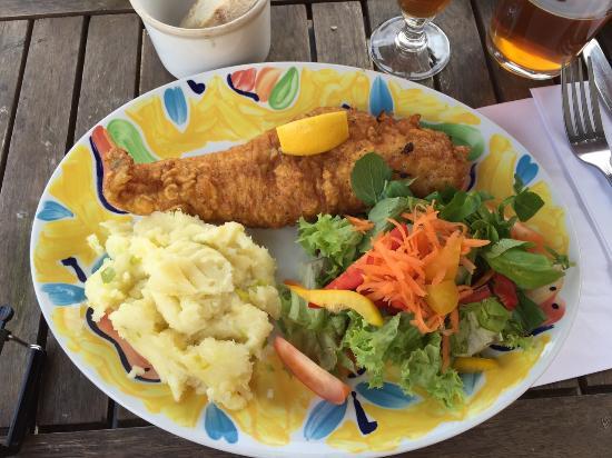 Duke of marlborough woodstock restaurantanmeldelser for Fish restaurant marlborough