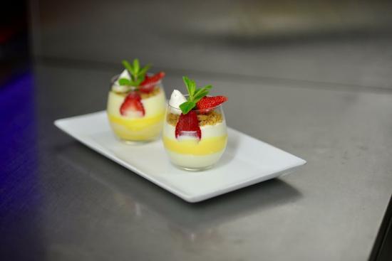 Restaurant La Baie d' Halong : Pana cotta passion