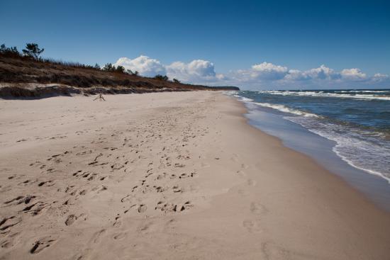 Miedzywodzie, Poland: Wspaniała Plaża 150m od ośrodka