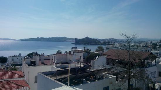 Bodrum Ugur Pansiyon : View from the terrace