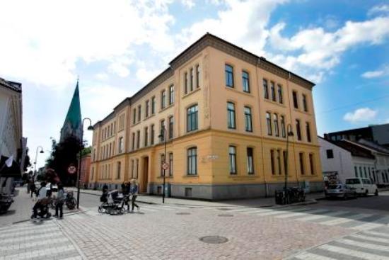 SKMU Sorlandets Kunstmuseum: SKMU building. Photo. Kjartan Bjelland