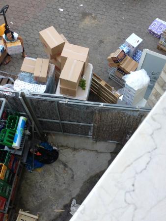 Hotel Sveti Kriz : Widok z pokoju