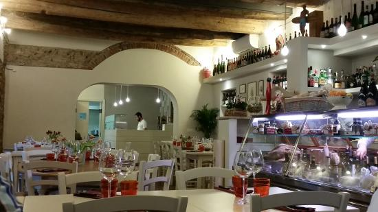 Lo Scarrozzo: A view from inside this very nice place