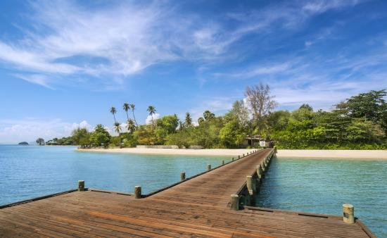The Naka Island, A Luxury Collection Resort & Spa Phuket: Arrival Jetty