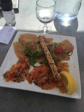 Bistro Gusto : duo poisson thon saumon