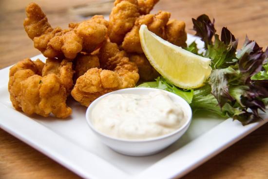 Greystone Bar & Cellar: Salt & Pepper Squid