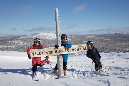Salla Ski Resort: Happy