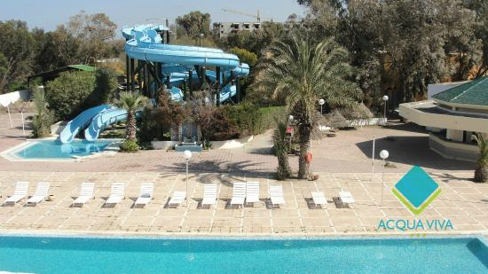 Piscine Toboggan  Photo De Htel Acqua Viva Gammarth  Tripadvisor