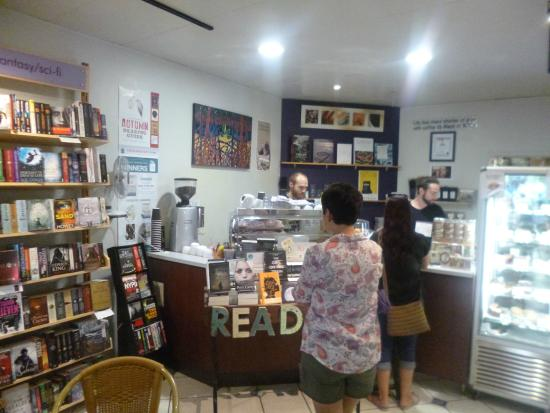 Whileaway Bookshop & Cafe: The boys behind the counter