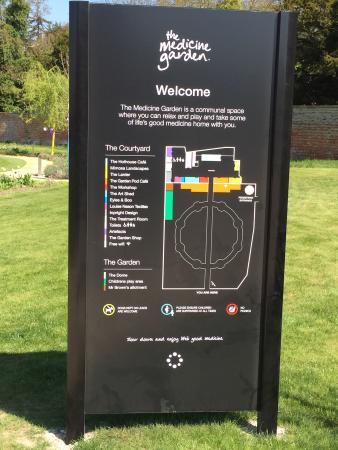 Medicine Garden: As you enter ...