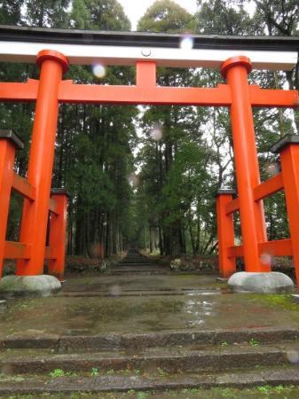 Takaharu-cho, Japon: 狭野神社鳥居