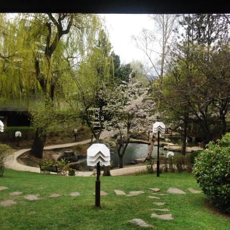 Hotel Marinela Sofia: Beautiful Japanese Style Garden