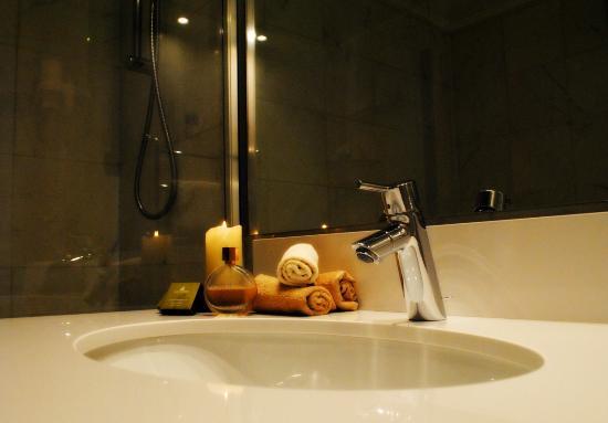Palazzo del Giglio : Particolare di un bagno