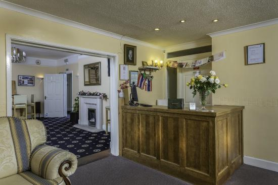 Lyme Bay House: Reception Area