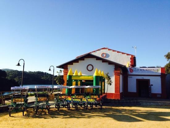 El Ronquillo, Spanien: Antigua Estación de La Vía Verde