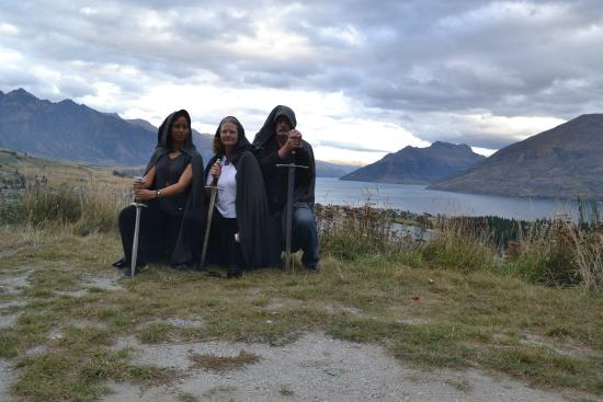 Queenstown, Yeni Zelanda: Misty Mountains