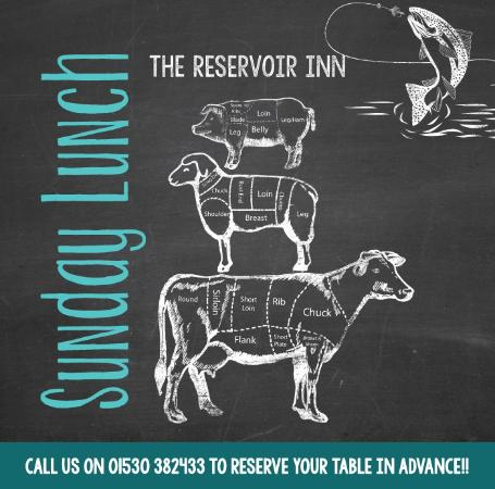 The Reservoir Inn: Walk the Reservoir then try our amazing Sunday lunch!
