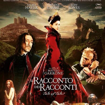 Il Castello di Roccascalegna nella locandina del nuovo film di Matteo Garrone. Parteciperà a al