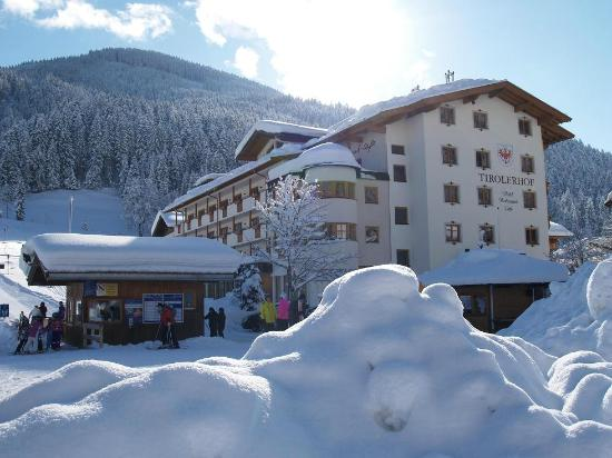 Landhotel Tirolerhof: Tirolerhof im Winter