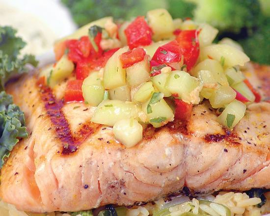 The Chop House: salmon