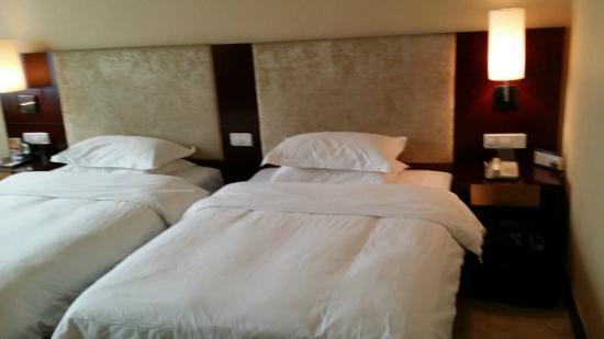 Zhangjiajie Minnan International Hotel : bed