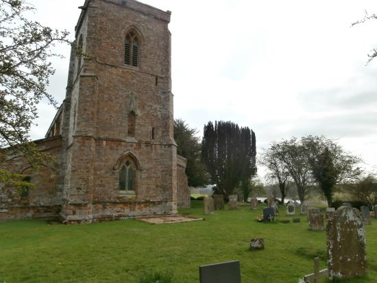 Fawsley, UK: The West End tower
