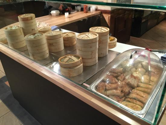 Market Creations Cafe : dim sum station