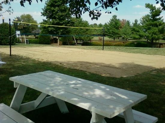 Raymond, IL: Sand Volleyball