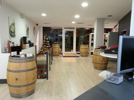 Restaurante la boutique del foie en santander con cocina for Cocinas santander
