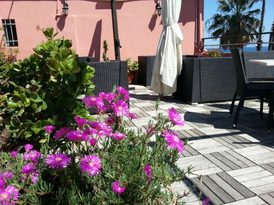 Hotel Ristorante Principe Decurtis : terrazza