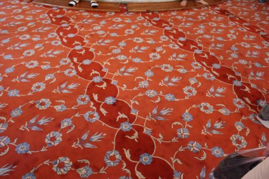Teppich der Sultan Ahmet Camii  Bild von Blaue Moschee