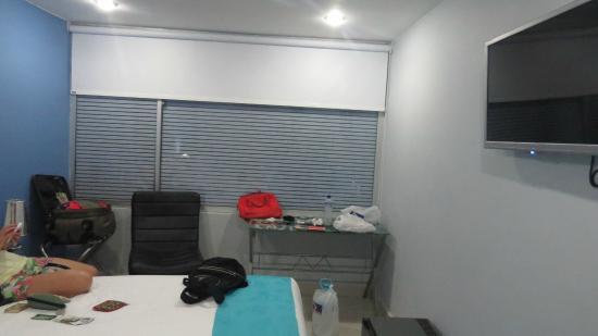 Hotel Blue Concept: Ventana de habitación triple
