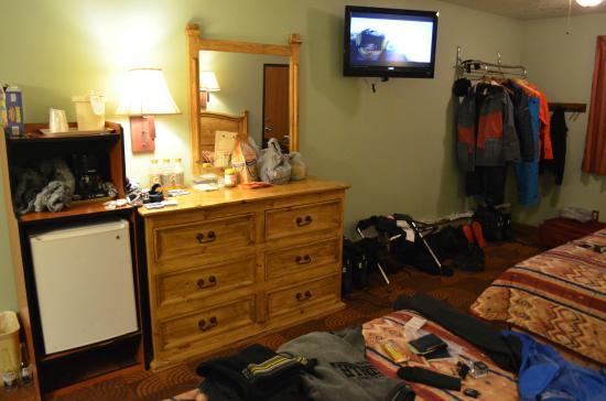 Summit Inn: Quarto para 4 pessoas com 2 camas queen