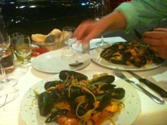 Osteria del Gambero Rosso: fantastic Seafood Spaghetti !