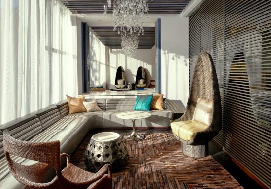 Living Room Bar Semi Private Area