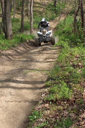 Harpole's Heartland Lodge, Inc: ATV/mountian bike trails